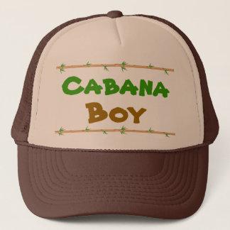 Cabana Boy hat with bamboo