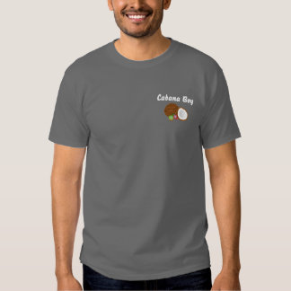 Cabana Boy with coconut t-shirt