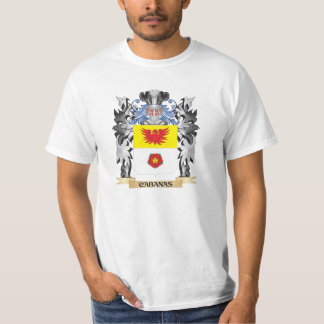 Cabanas Coat of Arms - Family Crest Tee Shirts