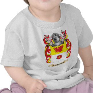 Cabanas Coat of Arms (Family Crest) Tshirts