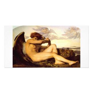 Cabanel  Alexandre  Fallen  Angel Photo Card Template
