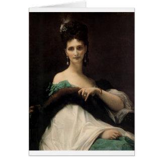 Cabanel  Alexandre  La  Comtesse  de  Keller  1873 Greeting Cards