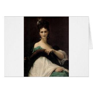 Cabanel  Alexandre  La  Comtesse  de  Keller  1873 Greeting Card
