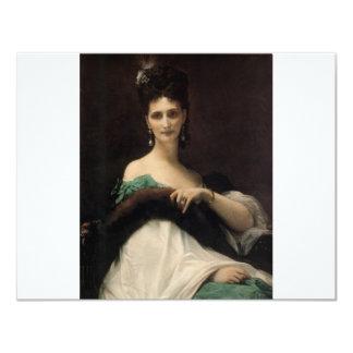 Cabanel  Alexandre  La  Comtesse  de  Keller  1873 Custom Invitation