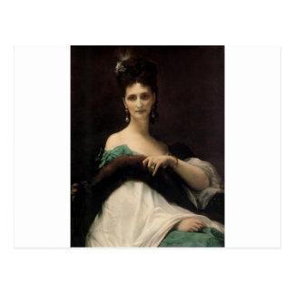Cabanel  Alexandre  La  Comtesse  de  Keller  1873 Post Card
