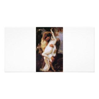 Cabanel  Alexandre  Nymphe  et  Satyr  1860 Photo Card