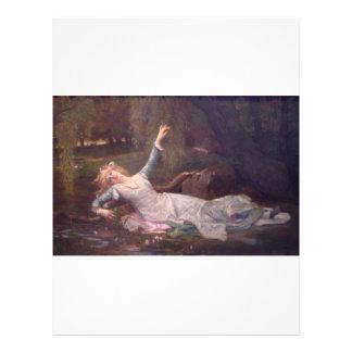Cabanel Alexandre Ophelia 1883 Flyer Design