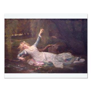 Cabanel Alexandre Ophelia 1883 Personalized Invitations