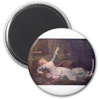 Cabanel Alexandre Ophelia 1883 Fridge Magnets