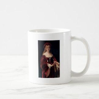 Cabanel Alexandre Patricienne De Venise 1881 Classic White Coffee Mug