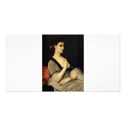 Cabanel Alexandre Portrait Of Countess E A Voronts Picture Card