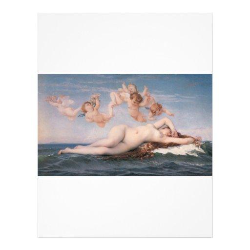 Cabanel Alexandre The Birth of Venus 1863 Flyers