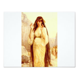 Cabanel Alexandre The Daughter Of Jephthah 1879 11 Cm X 14 Cm Invitation Card