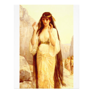 Cabanel Alexandre The Daughter Of Jephthah 1879 21.5 Cm X 28 Cm Flyer