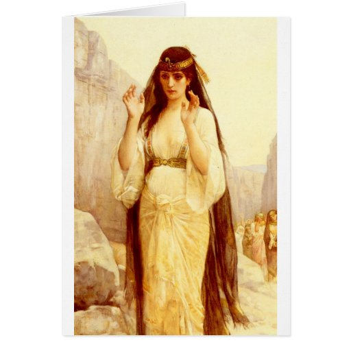 Cabanel Alexandre The Daughter Of Jephthah 1879 Greeting Cards