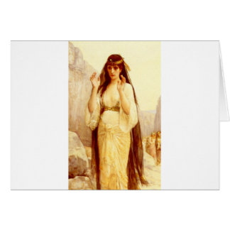 Cabanel Alexandre The Daughter Of Jephthah 1879 Greeting Card