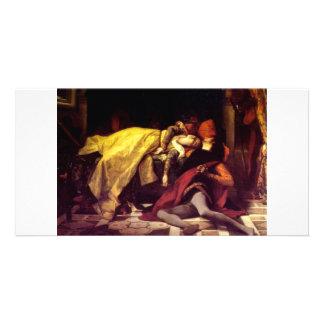 Cabanel Alexandre The Death of Francesca de Rimini Photo Card