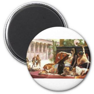Cabanel Cleopatra Testing Poisons on Condemned Pri Fridge Magnet
