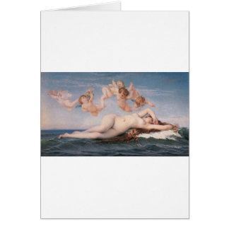 Cabanel The Birth of Venus 1863 Card