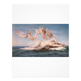 Cabanel The Birth of Venus 1863 Custom Flyer