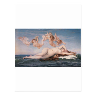 Cabanel The Birth of Venus 1863 Postcard