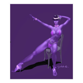 Cabaret Dancer Poster Print Photographic Print