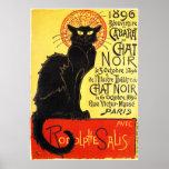 Cabaret du Chat Noir, Steinlen Print