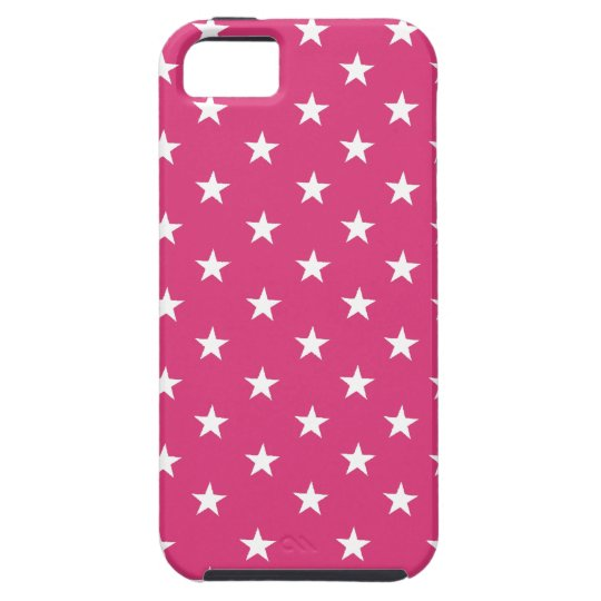 Cabaret Red Fuchsia & White Stars. Add Protection!