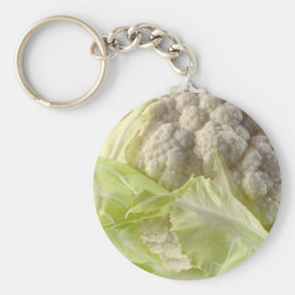 "Cabbage 2.25"" Basic Button Keychain"