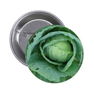 Cabbage 6 Cm Round Badge