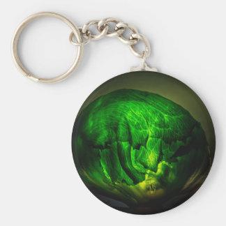 Cabbage-966 Basic Round Button Key Ring