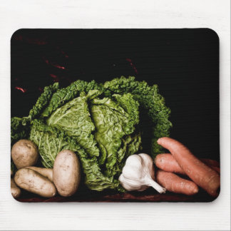 cabbage and vegetables mouse mat