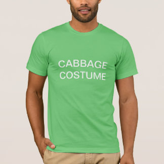 Cabbage Costume T-Shirt