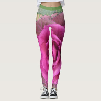 Cabbage Flower Leggings