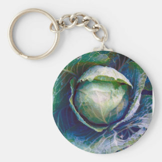 Cabbage Key Ring