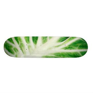 Cabbage leaf skate boards