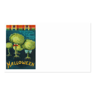 Cabbage Lettuce Creature Monster Science Fiction Pack Of Standard Business Cards