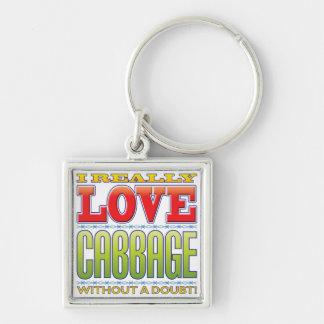 Cabbage Love Keychain