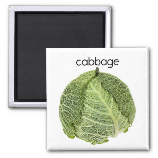 Cabbage Refrigerator Magnet