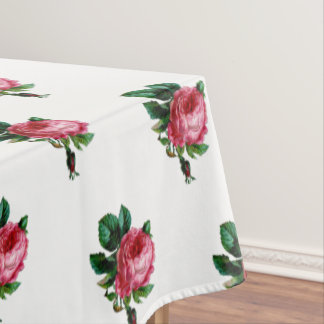 Cabbage Rose Tablecloth