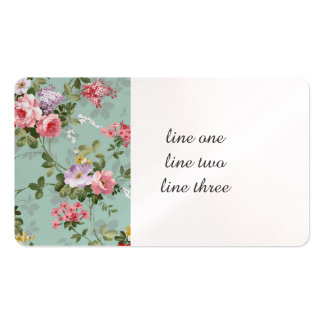 Cabbage Roses and Lilacs Old-Fashioned Pack Of Standard Business Cards