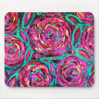 CABBAGE ROSES MOUSE MATS