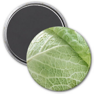 Cabbage Small, 1¼ Inch Round Magnet