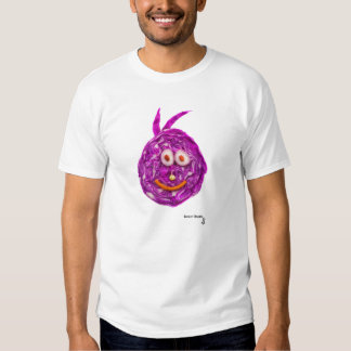 Cabbage Smiley Face T Shirt