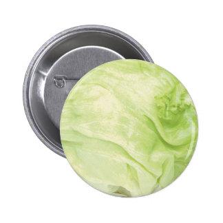 Cabbage Standard, 2¼ Inch Round Button