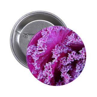 Cabbage Themed 6 Cm Round Badge