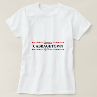 CABBAGETOWN - My Home (Pink & Red Hearts) T-Shirt