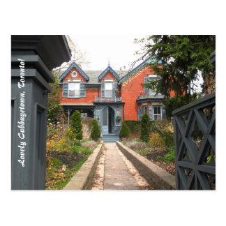 Cabbagetown Toronto Tourism Postcard