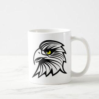 Cabeça de águia caneca