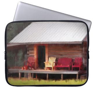 Cabin Adirondacks Laptop Sleeve